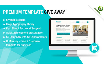 Premium Template GiveAway – Quickstart Joomla 2.5 Template Releases