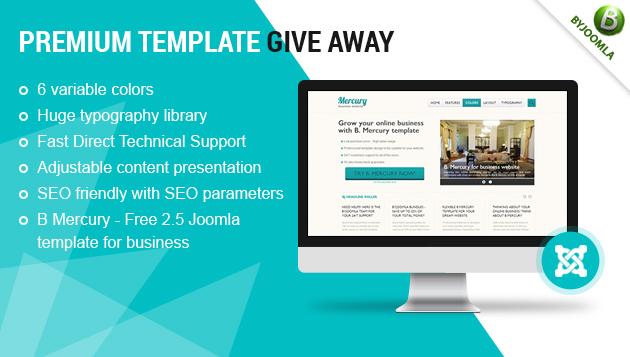 Free Joomla 2.5 template